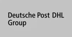 Deutsche Post DHL Group Logo grau