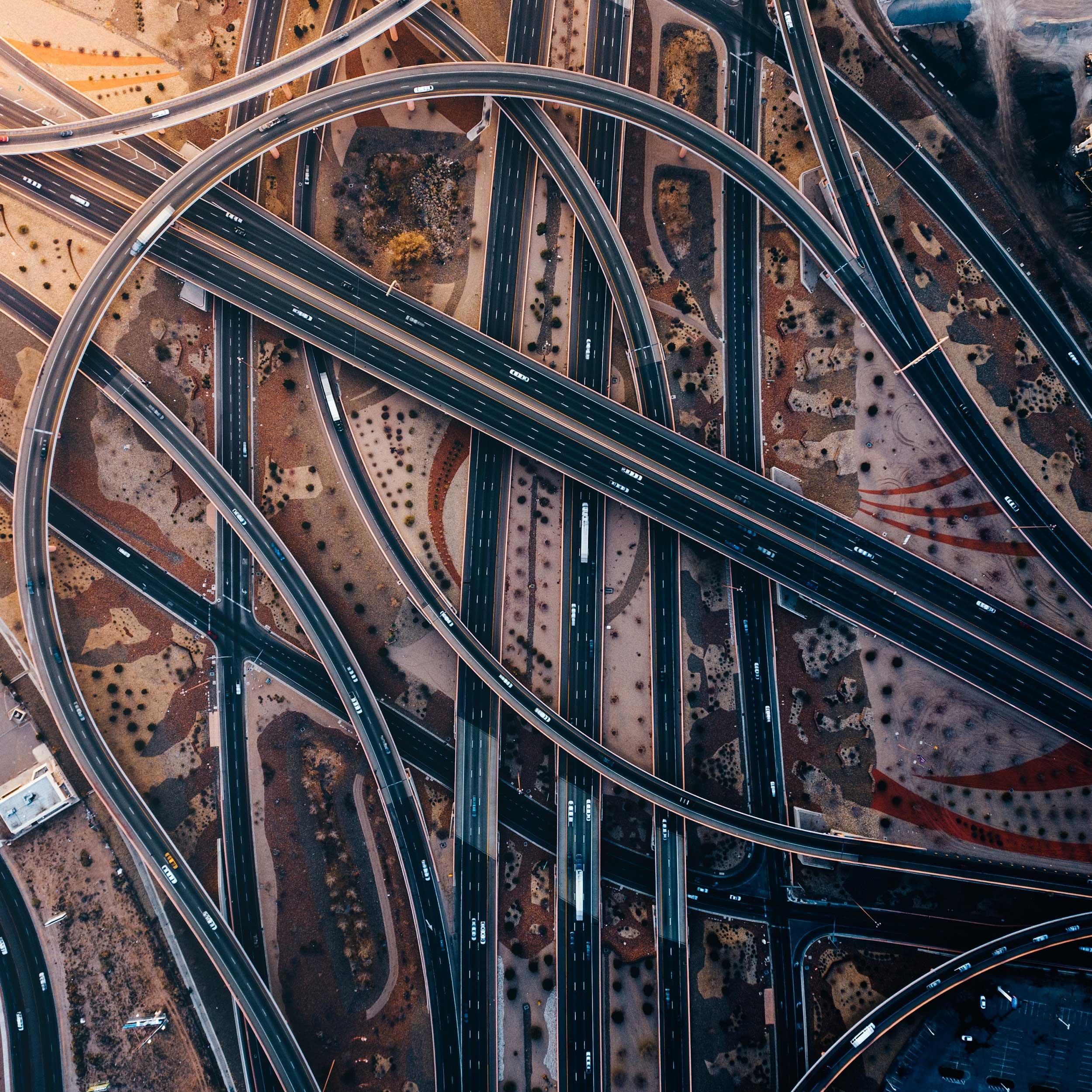 ICUnet Services Straßennnetz