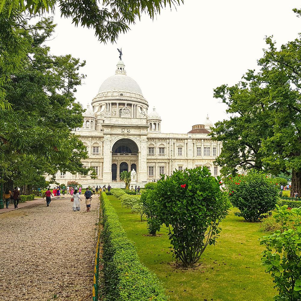 Victoria Memorial in Kalkutta, Indien