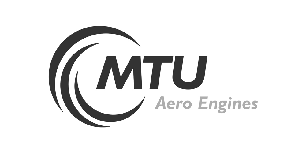 MTU Aero Engines Logo grau